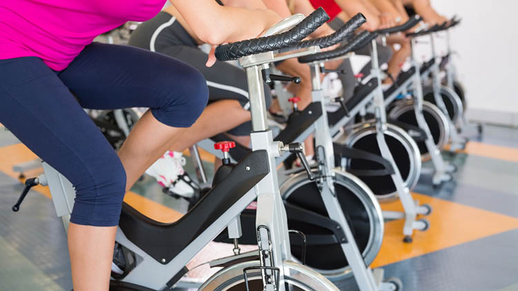 Spinning Class on Wednesdays