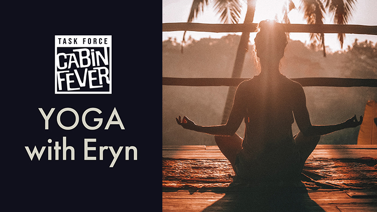 USAG Benelux Task Force Cabin Fever - Live Yoga with Eryn
