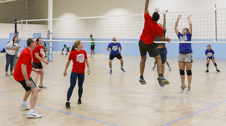 Chievres Fitness Center Volleyball Tournament