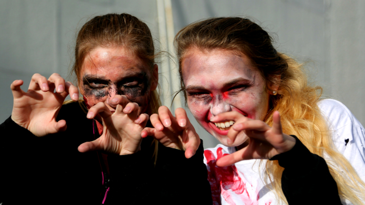 Kid-Friendly Zombie Run