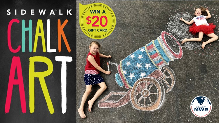 4th of July Chalk Art Contest