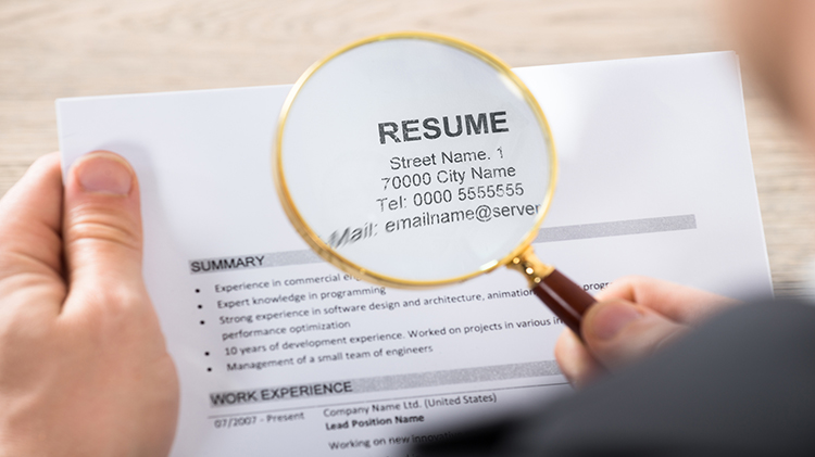Resume Preparedness